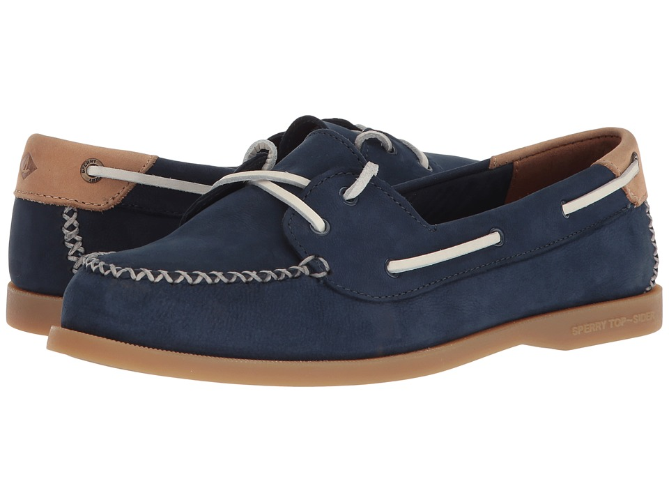 Sperry A/O Venice Leather (Navy) Women