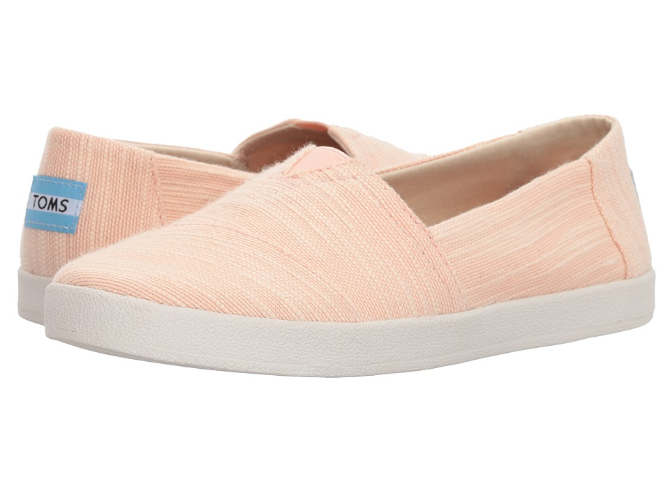 TOMS Avalon (Bloom Slubby Cotton) Women's Shoes