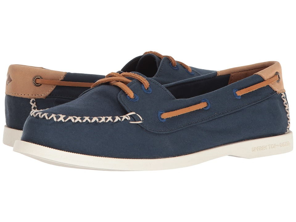 Sperry A/O Venice Canvas (Navy) Women's Shoes