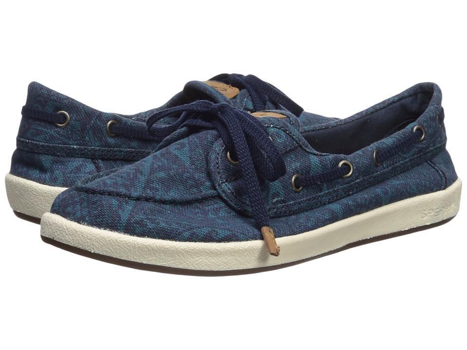 Sperry Drift Hale Tribal (Navy Multi) Women's Shoes