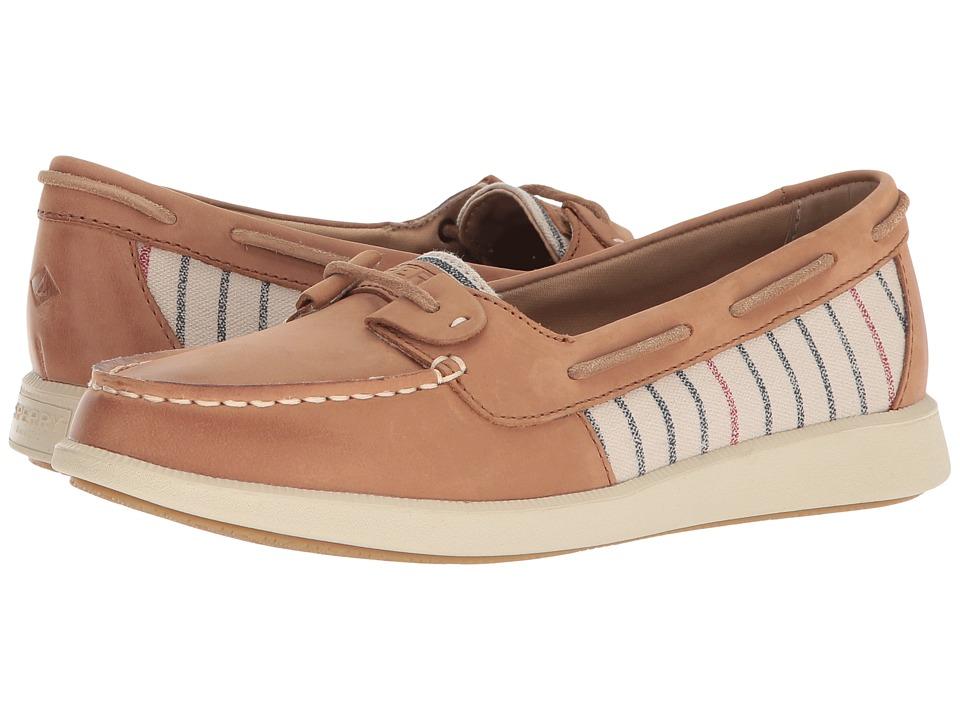Sperry Oasis Loft (Tan Stripe) Women's Shoes