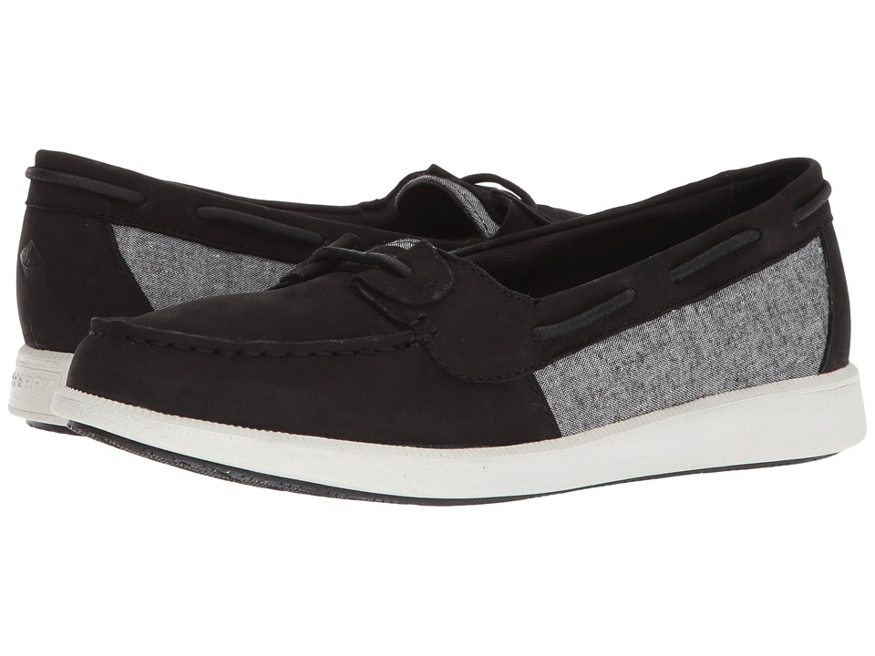 Sperry Oasis Loft (Black Chambray) Women's Shoes