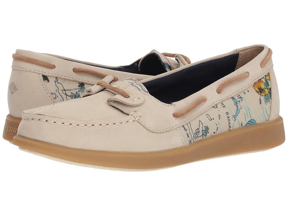 Sperry Oasis Loft (Linen Map) Women's Shoes
