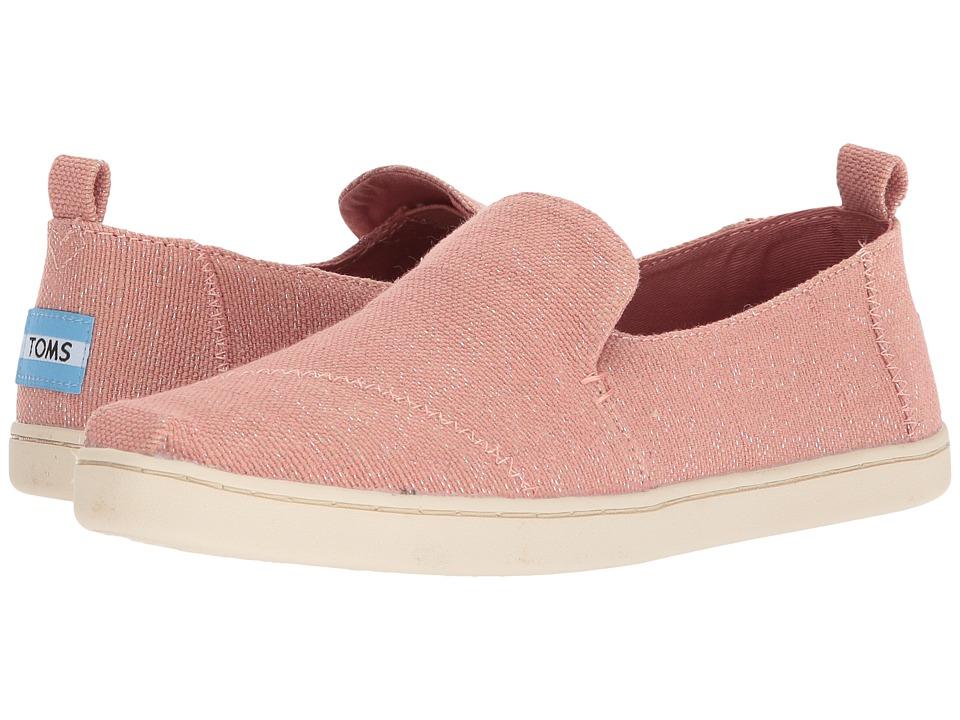 TOMS Deconstructed Alpargata (Bloom Metallic Jute) Slip-On Shoes