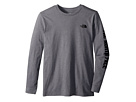 The North Face Kids Long Sleeve Graphic Tee (Little Kids/Big Kids)
