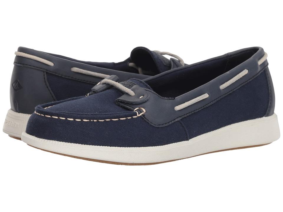 Sperry Oasis Loft Canvas (Navy) Women's Shoes