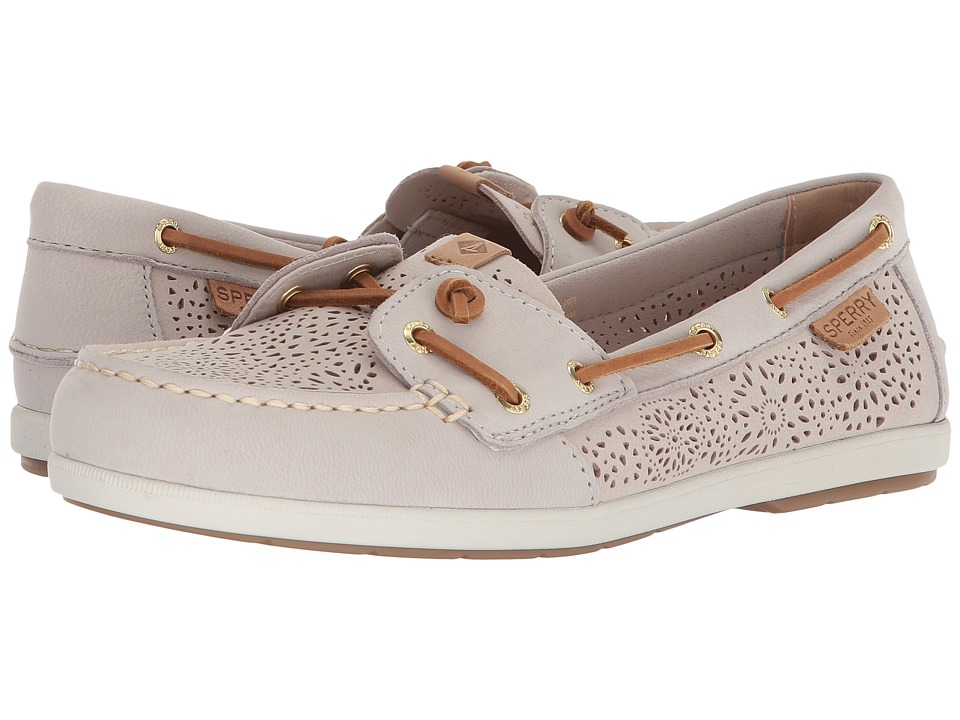 Sperry Coil Ivy Geo Perf (Ivory) Women
