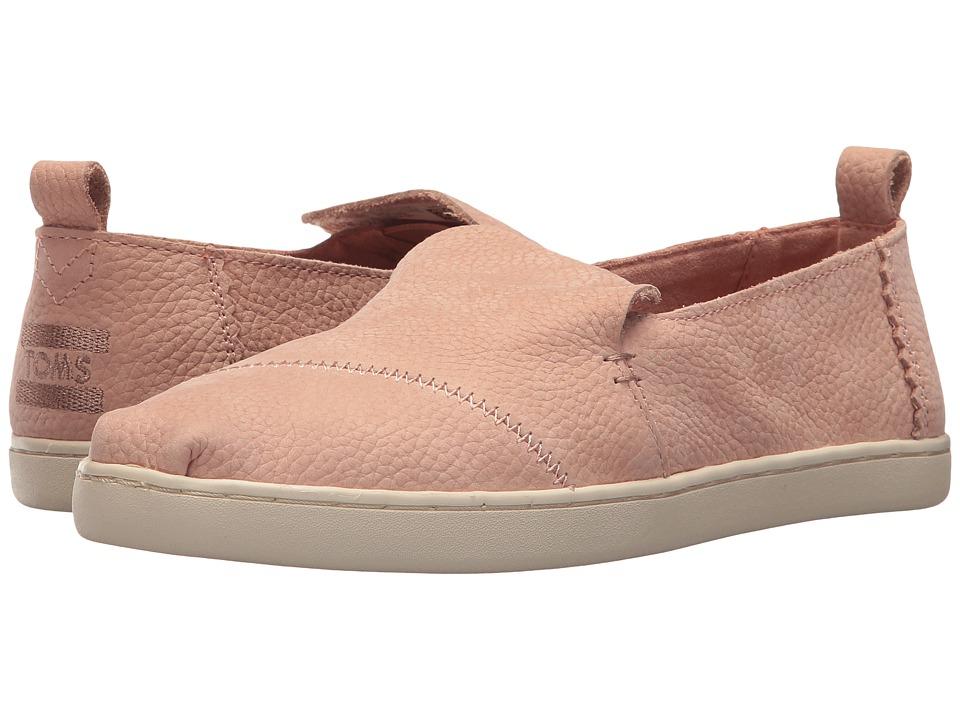 TOMS Deconstructed Alpargata (Bloom Nubuck) Slip-On Shoes