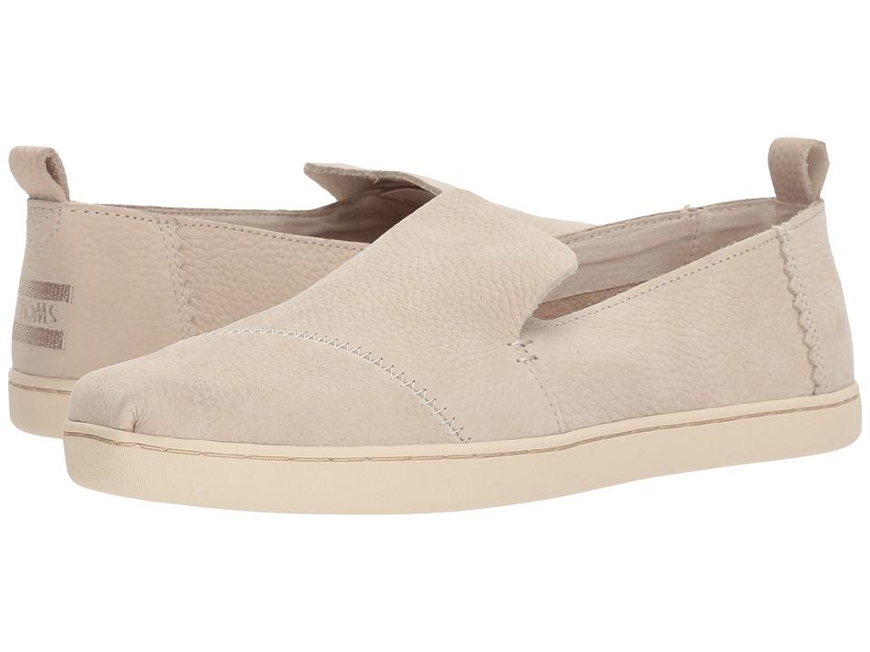 TOMS Deconstructed Alpargata (Birch Nubuck) Slip-On Shoes