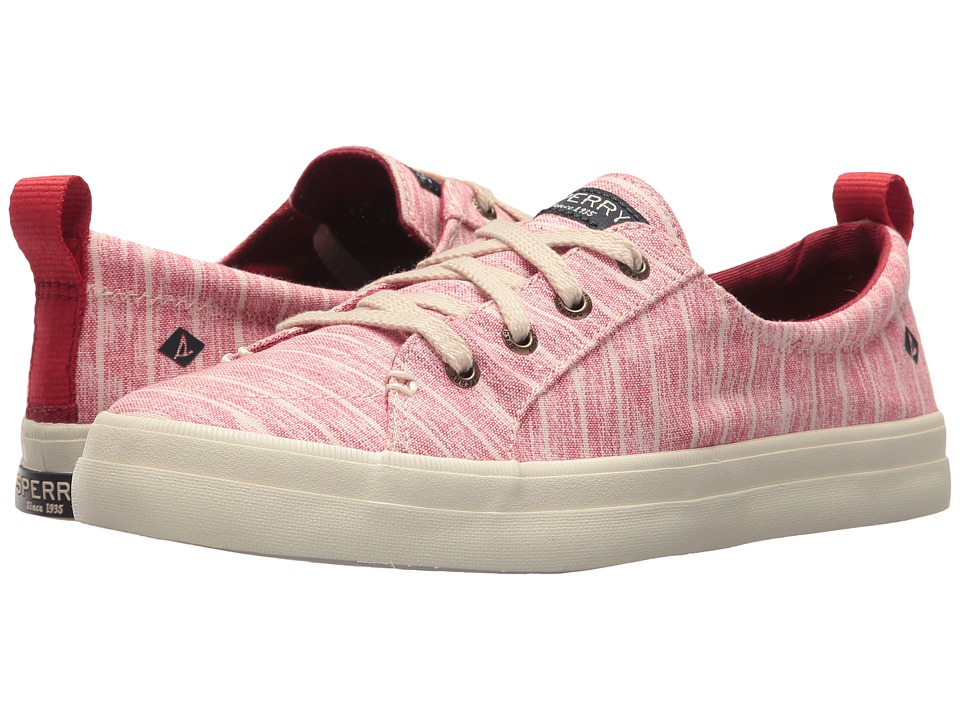 Sperry Crest Vibe Painterly Stripe (Red) Women
