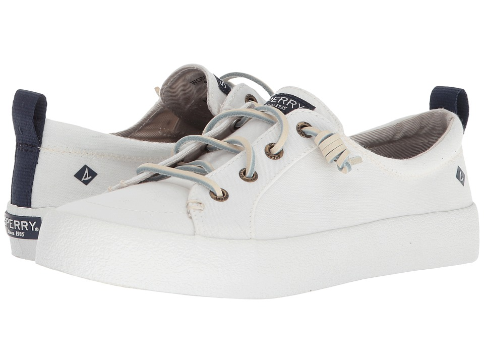 Sperry Crest Vibe Crepe Chambray (Ivory) Women