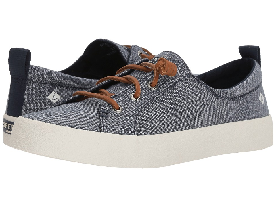 Sperry Crest Vibe Crepe Chambray (Navy) Women