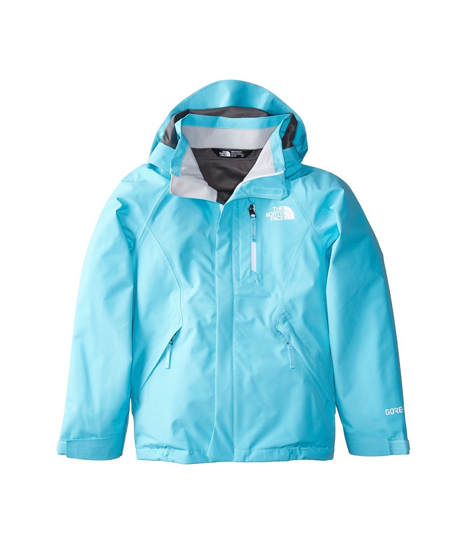 North Face Dryzzle Jacket (Little Kids/Big Kids) (Blue Cu...