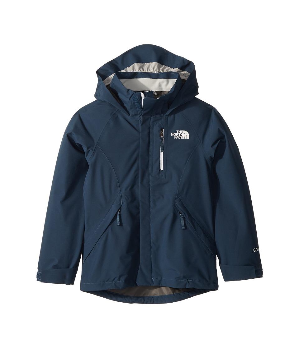 North Face Dryzzle Jacket (Little Kids/Big Kids) (Blue Wi...