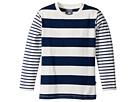 Toobydoo Nautical Stripe Tee (Toddler/Little Kids/Big Kids)