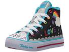 SKECHERS KIDS Twinkle Toes: Shuffles 10874L Lights (Little Kid/Big Kid)