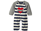 Toobydoo ToobyTattoo Heart Knit Jumpsuit (Infant)
