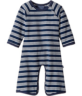 Toobydoo - French Stripe Jersey Knit Bootcut Jumpsuit (Infant)