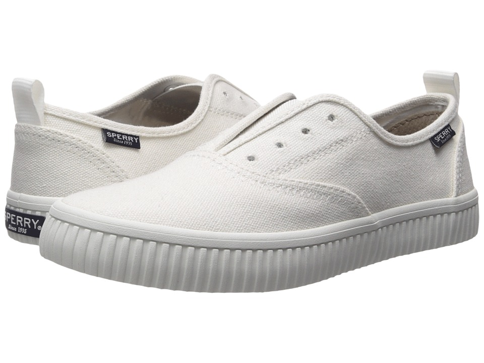 Sperry Crest Creeper CVO (White) Women's Shoes