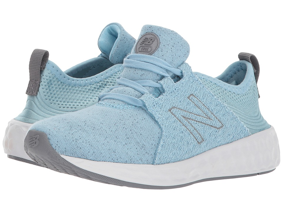 New Balance Kids KJCRZv1P (Little Kid) (Clear Sky/Gunmetal) Girls Shoes