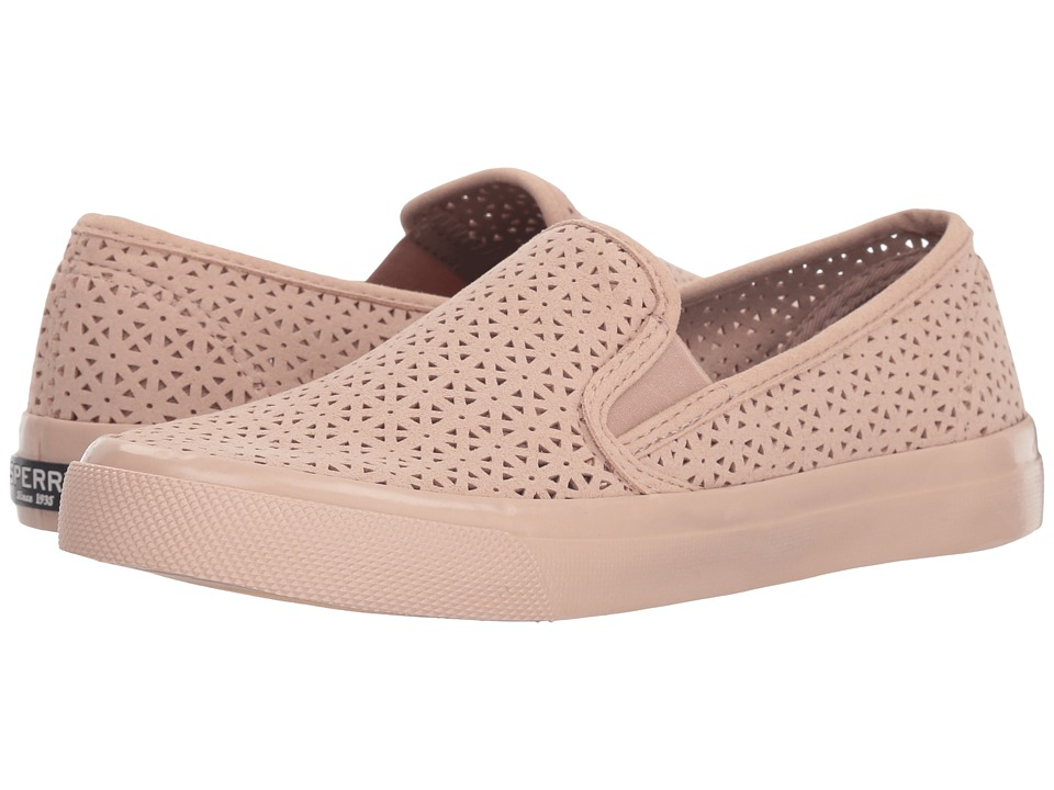 Sperry Seaside Nautical Perf (Rose) Women's Shoes