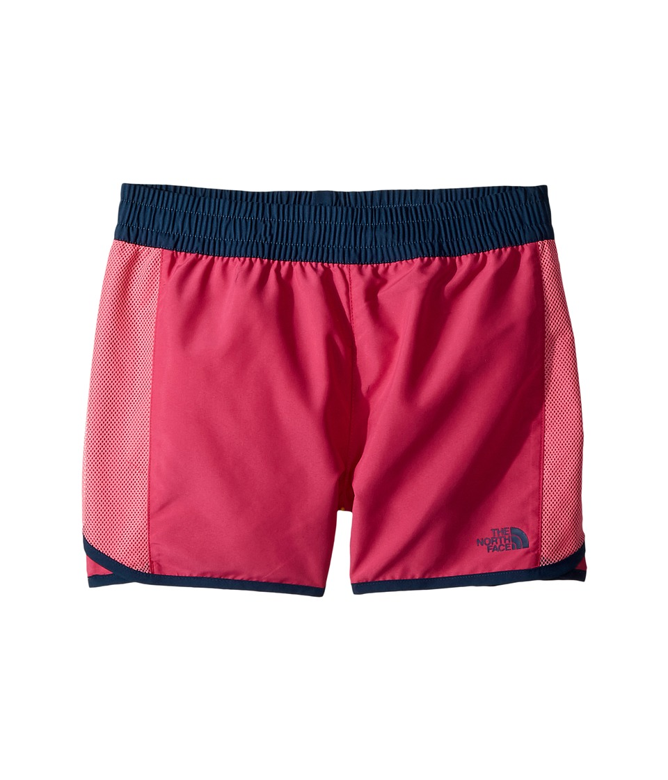 The North Face Kids Class V Water Shorts (Little Kids/Big Kids) (Petticoat Pink Medallion Phantom Print/Blue Wing Teal) Girl