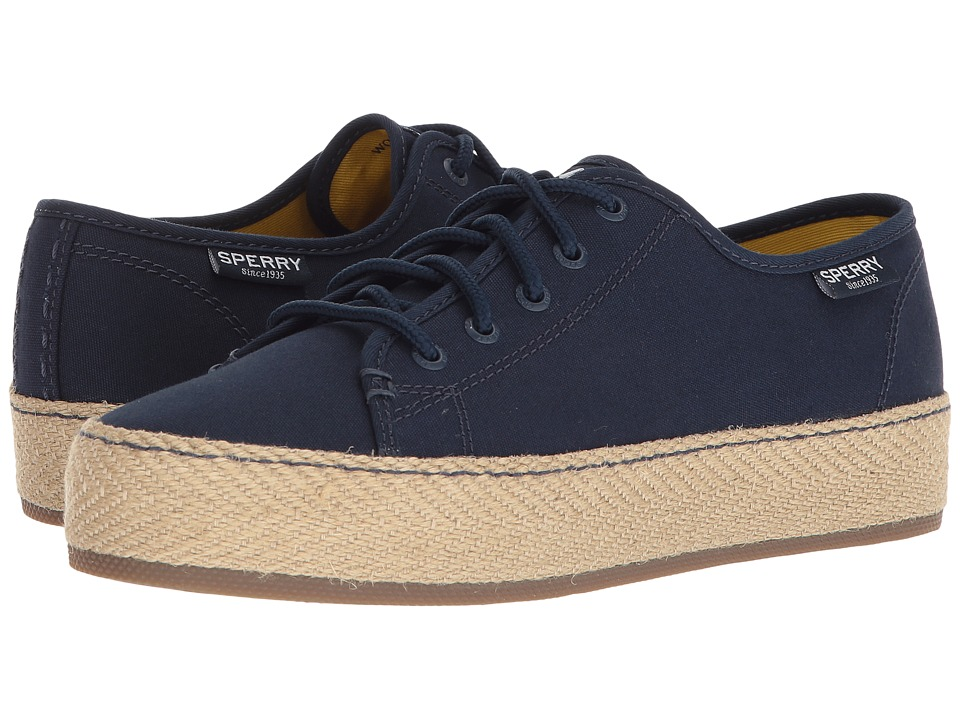 Sperry Sky Sail Jute Wrap (Navy) Women's Shoes