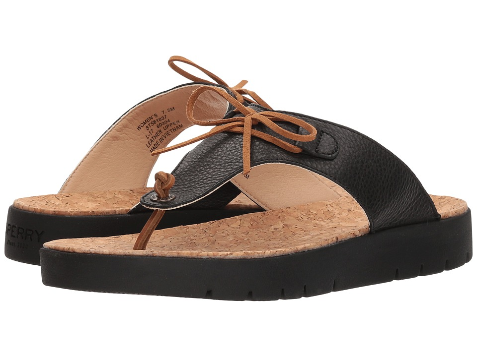 Sperry Sunkiss Cara (Black) Women's Shoes
