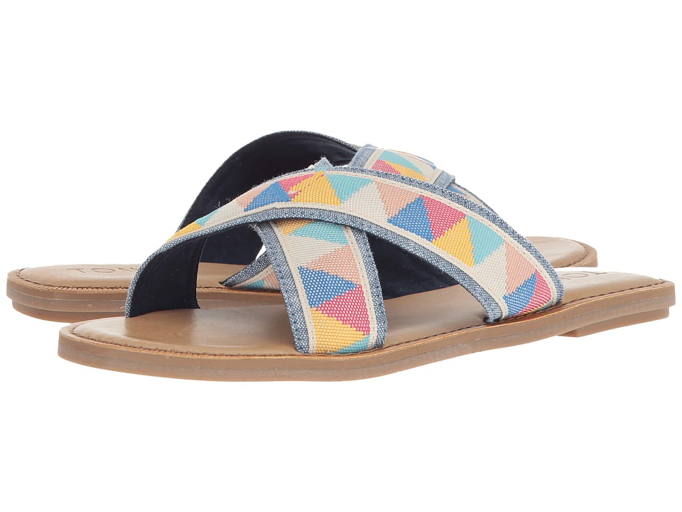 TOMS Viv (Multi Tribal) Sandals