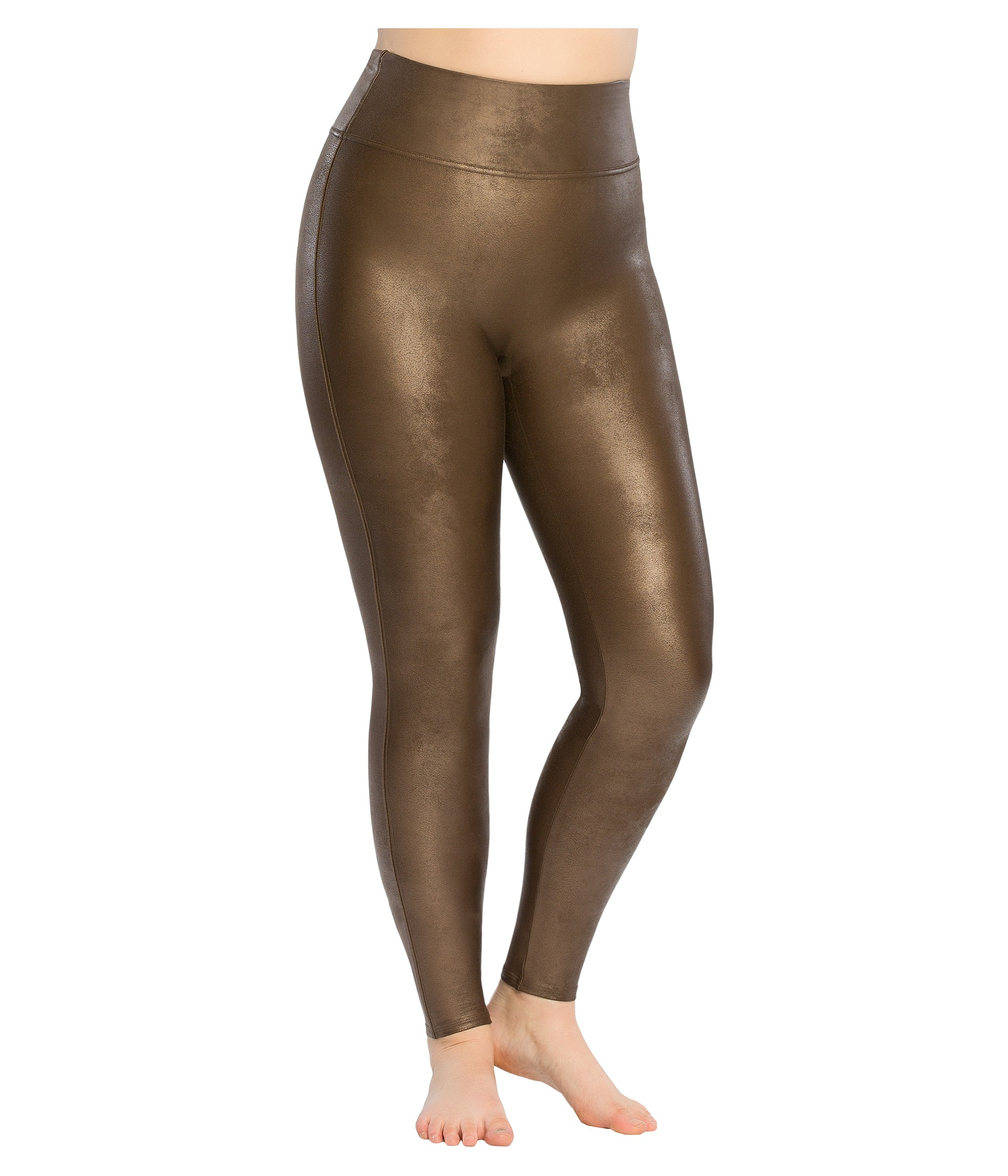 Spanx Plus Size Faux Leather Leggings at Zappos.com