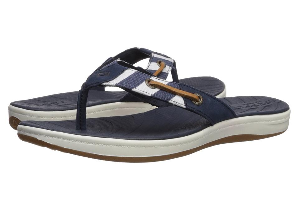 Sperry - Seabrook Surf Breton Stripe (Navy) Womens Shoes