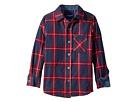 Toobydoo Check Flannel Shirt (Infant/Toddler/Little Kids/Big Kids)