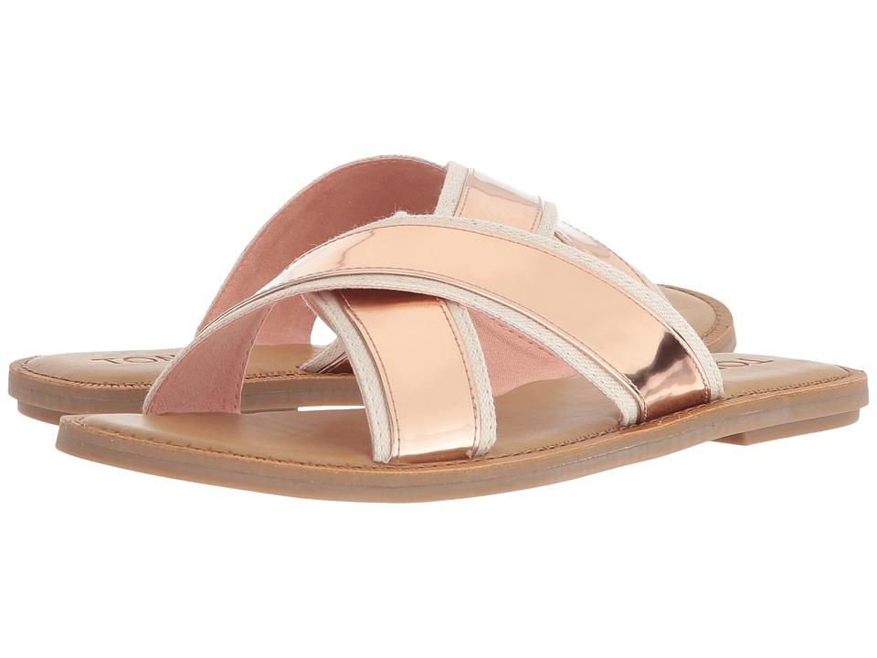 TOMS Viv (Rose Gold Specchio) Sandals