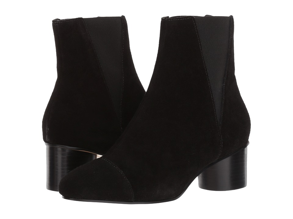 Rebecca Minkoff - Izette (Black Oiled Suede) Womens Boots