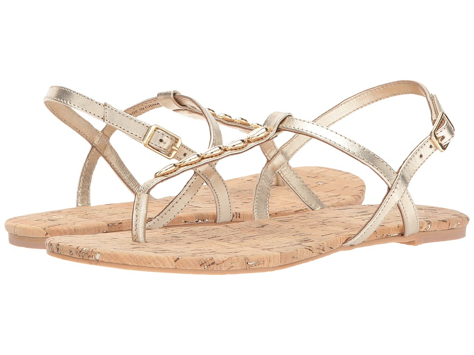 Lilly Pulitzer - Cora Sandal (Gold Metallic Leather) Women's Sandals
