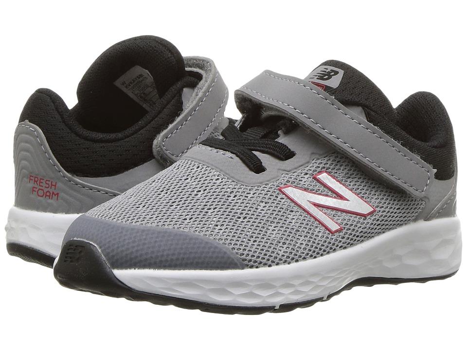 New Balance Kids - KVKAYv1I (Infant/Toddler) (Steel/Black) Boys Shoes