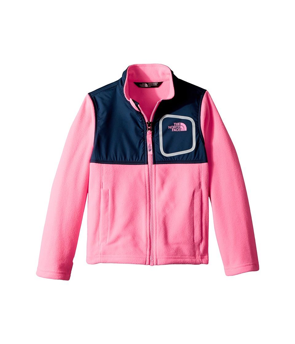 The North Face Kids - Glacier Track Jacket (Gem Pink/Blue Wing Teal) Girls Coat