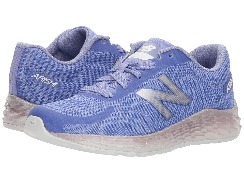 New Balance Kids KJARIv1Y (Little Kid/Big Kid) (Purple/Metallic) Girls Shoes