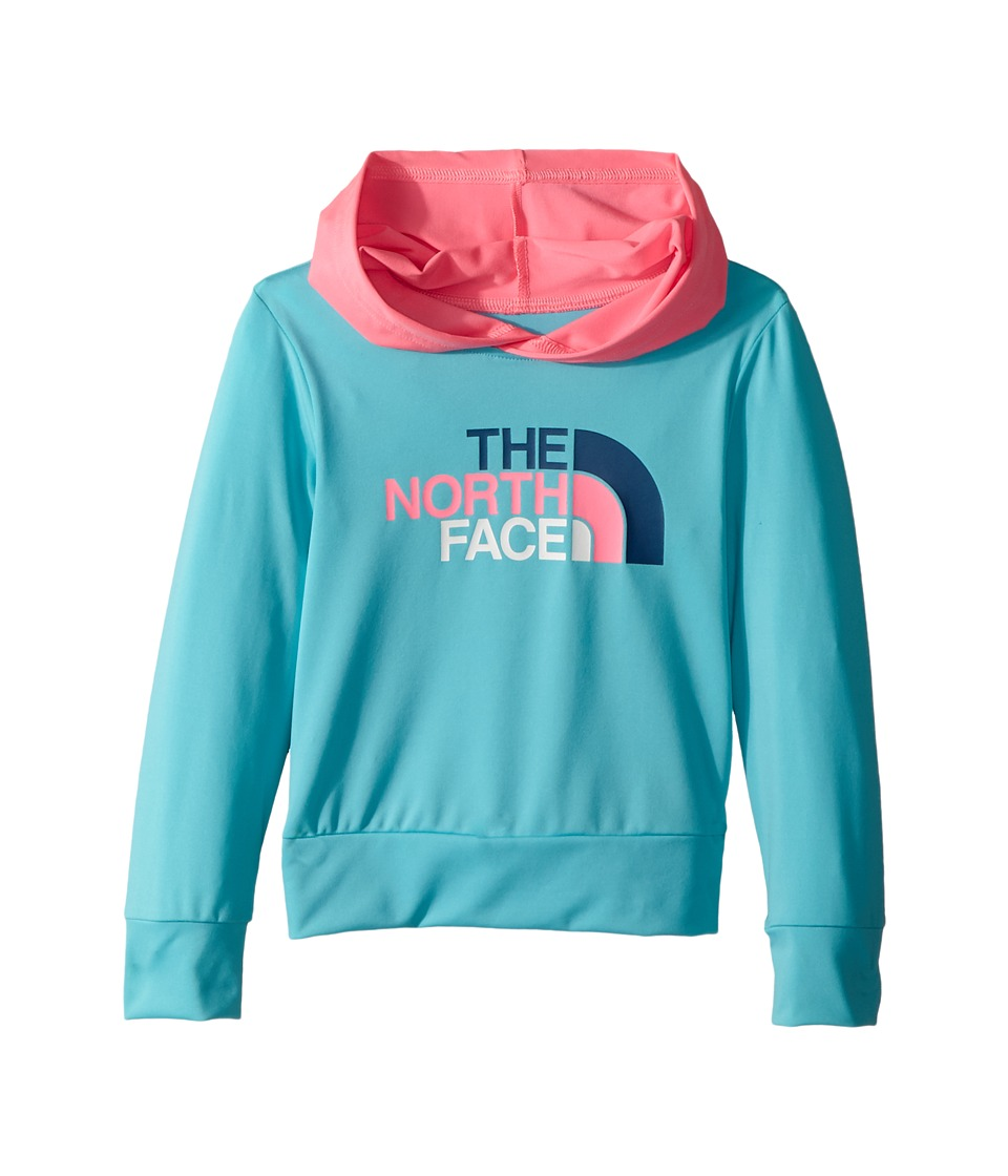 The North Face Kids - Long Sleeve Hike/Water Tee (Toddler) (Blue Curacao/Gem Pink) Boys Sweatshirt