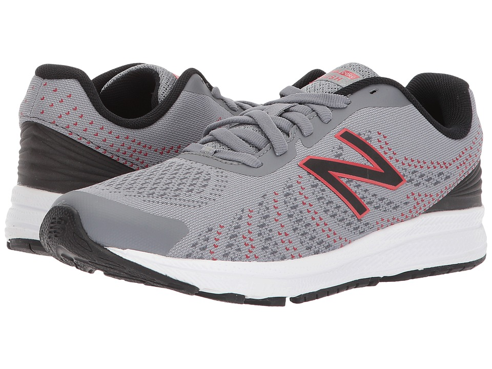 New Balance Kids FuelCore Rush v3 (Big Kid) (Grey/Black) Boys Shoes