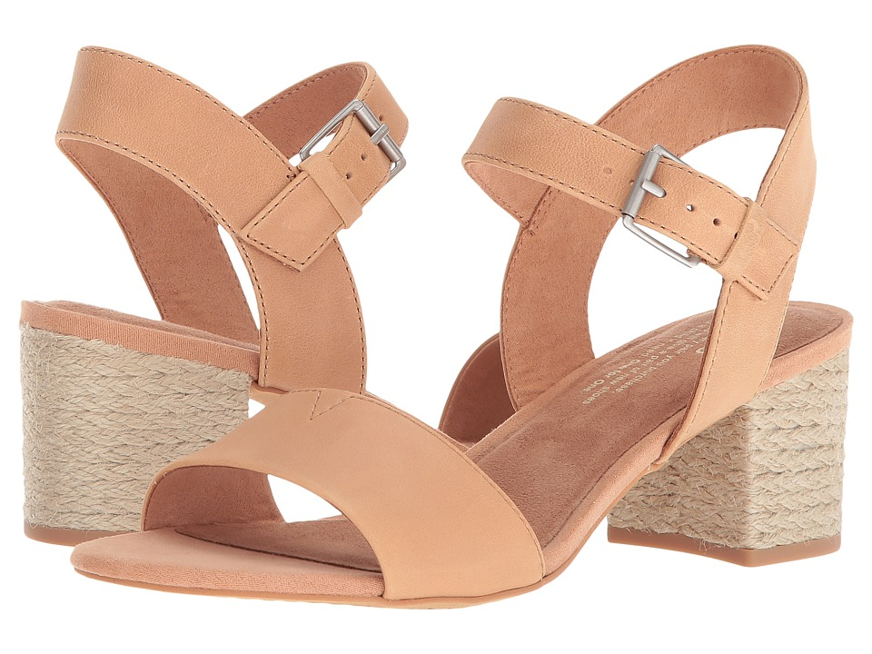 TOMS Rosa (Honey Leather) Sandals