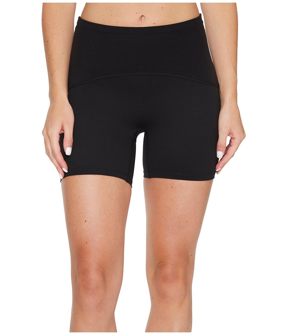 Spanx Active Compression 4 Shorts (Black) Women