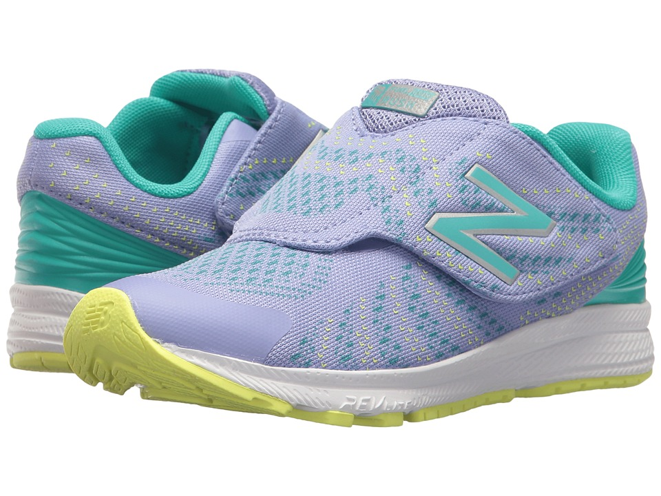 New Balance Kids KVRUSv3P (Little Kid) (Tidepool/Ice Violet) Girls Shoes