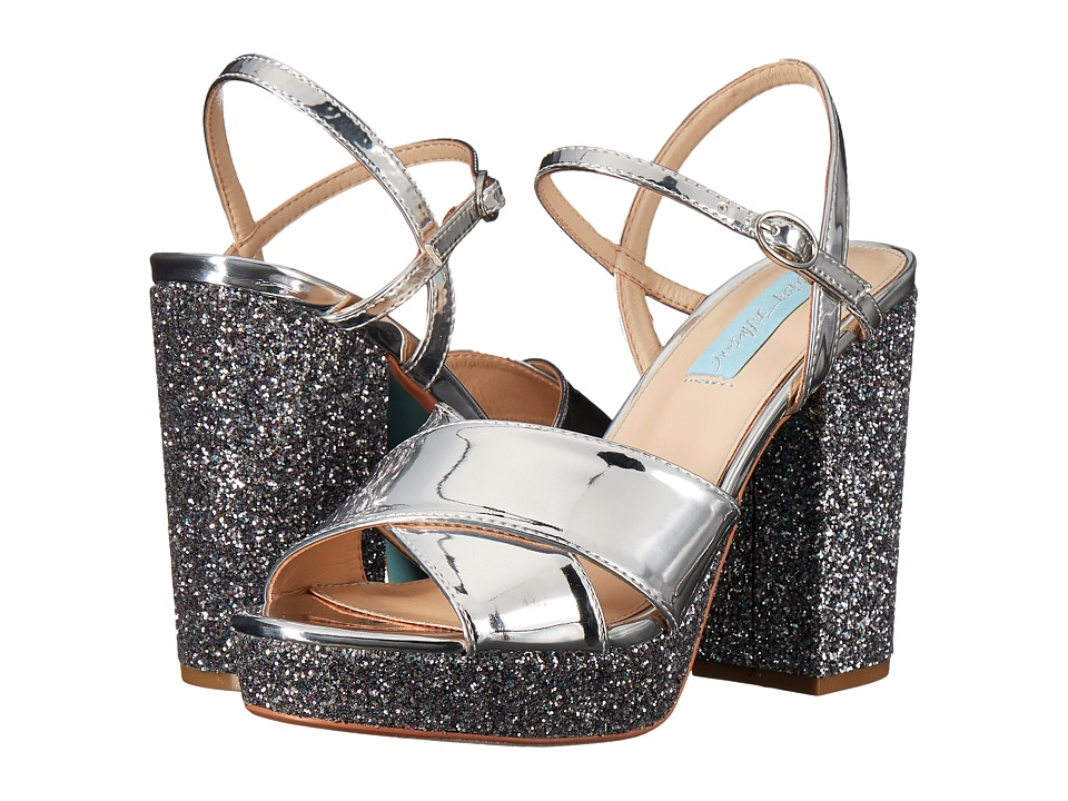 Blue by Betsey Johnson Ollie (Silver Metallic) Women