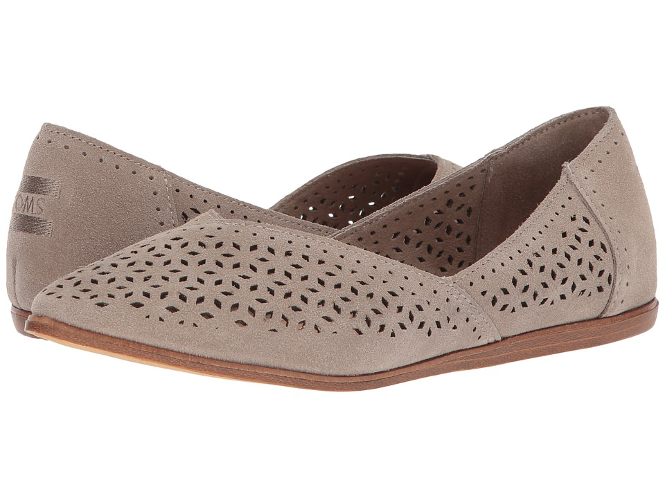 TOMS Jutti Flat (Desert Taupe Suede/Mosaic Tile) Flats