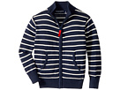 Toobydoo The Classic Stripe Zip Sweater (Infant/Toddler/Little Kids/Big Kids)
