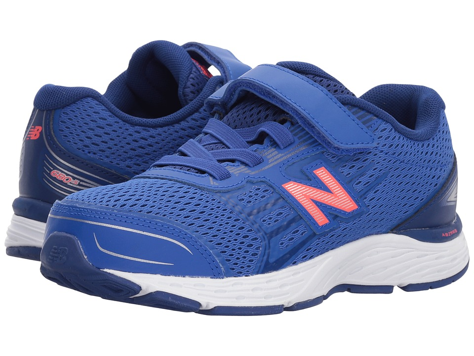 New Balance Kids - KA680v5Y (Little Kid/Big Kid) (Pacific/Dynomite) Boys Shoes