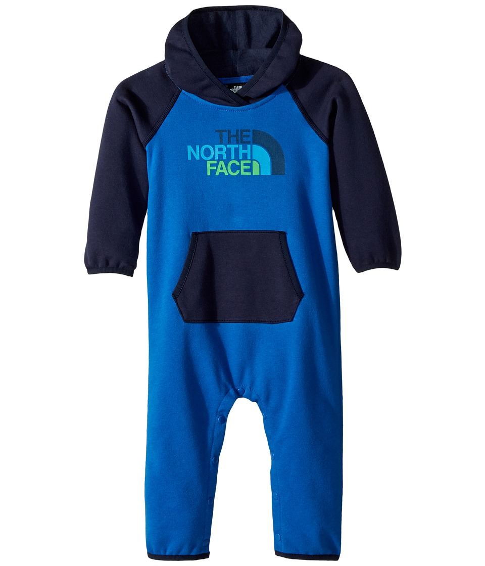 The North Face Kids - Logowear One-Piece (Infant) (Turkish Sea/Cosmic Blue) Kids Jumpsuit & Rompers One Piece