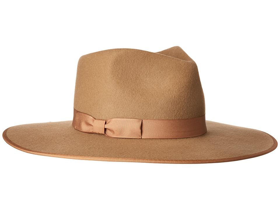 Lack of Color - Teak Rancher Wool Felt Fedora
