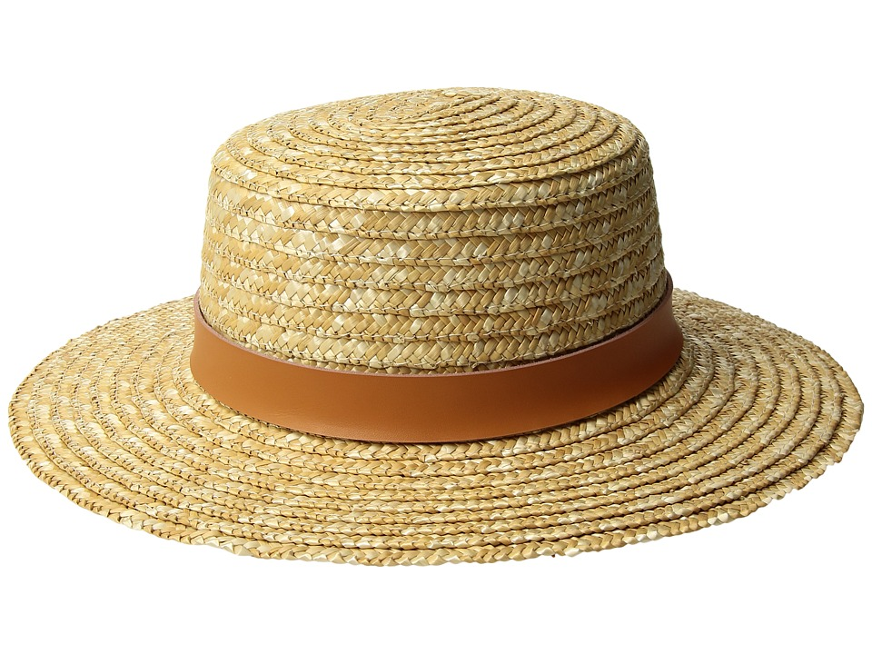 Lack of Color - Spencer Terracotta Straw Boater